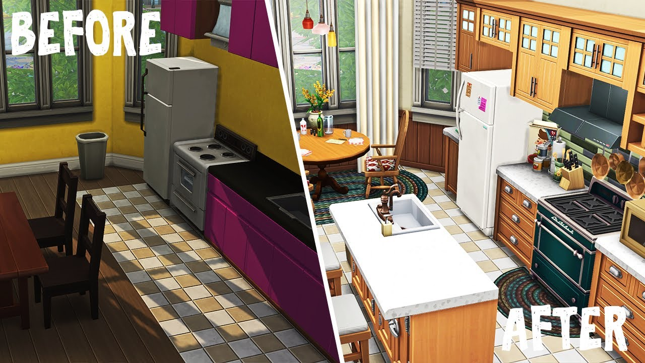 Grandparents Raising Twins \ Sticking To The Plan  || The Sims 4 Apartment Renovation: Speed Build thumbnail