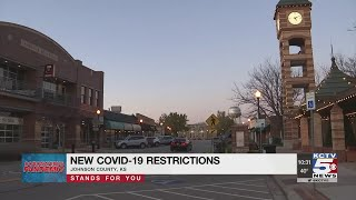 New covid-19 restrictions are on the way for much of kansas city metro in response to rapid and uncontrolled spread virus.