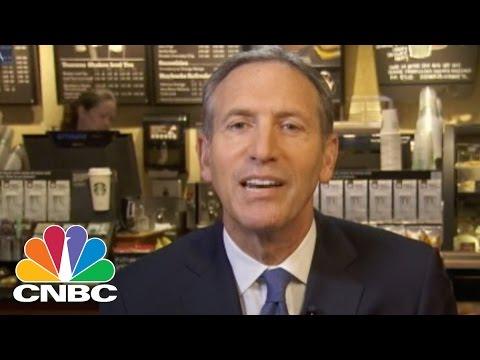 Starbucks CEO Howard Schultz Loves Apple Pay | CNBC
