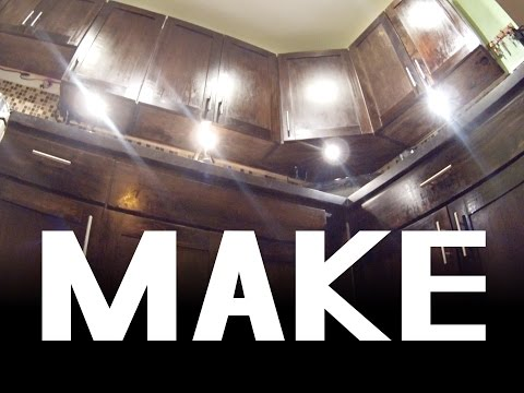 ✔ Build A Kitchen From Scratch With Basic Tools / How I Make