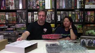 Unboxing of A Song of Ice and Fire by CMON