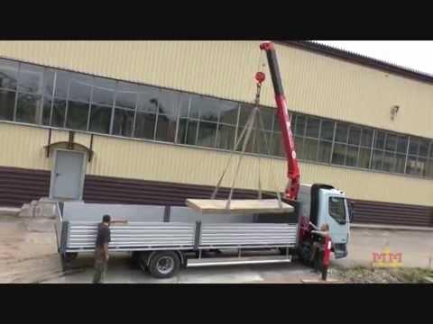 Аренда и услуги крана манипулятора в Москве