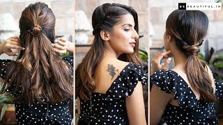 3 आसान हेयर स्टाइल्स   Everyday Hairstyles For Medium Hair   Knot Me Pretty   Be Beautiful
