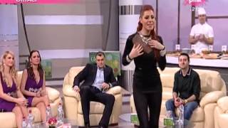 Mia Borisavljevic - Moj Beograde - Vikend vizija - (TV Pink 2013)