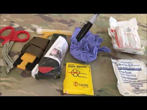 Basic blow out kit HSGI bleeder/blowout pouch