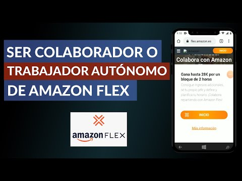 Cómo Puedo ser Colaborador o Trabajador Autónomo en Amazon Flex - Empleo en Amazon Flex