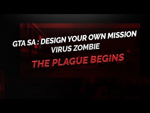 GTA SA DYOM  -  Virus Zombie -  Indonesia