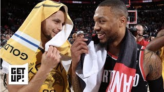 Warriors vs. Blazers will be a battle of the backcourts | Get Up!