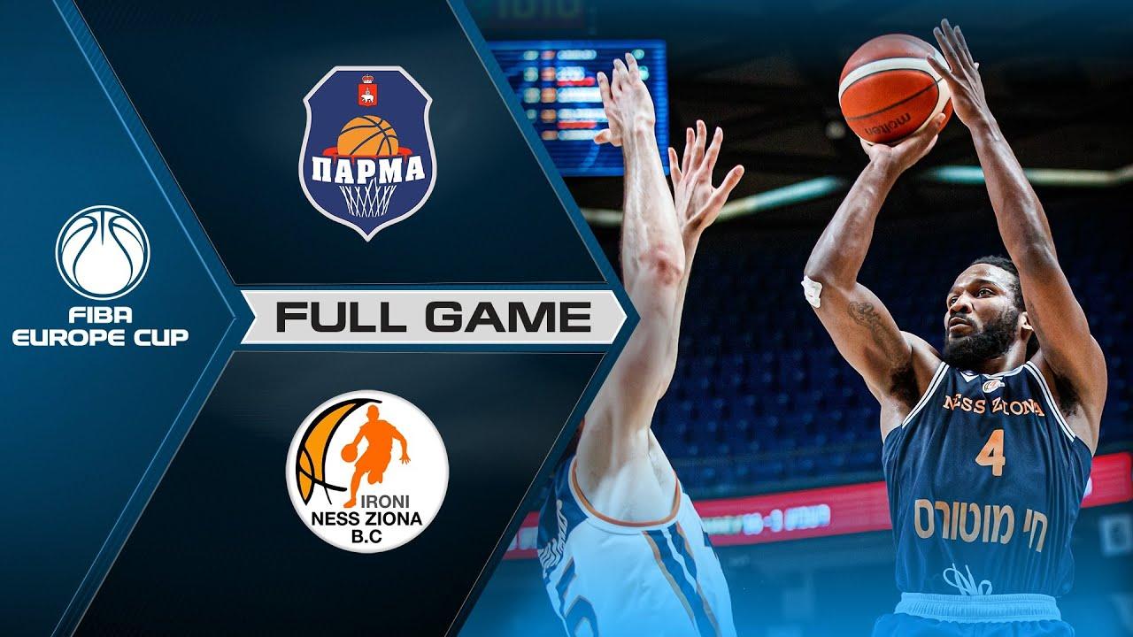 Semi-Finals: BC Parma v Ironi Ness Ziona | Full Game - FIBA Europe Cup 2020