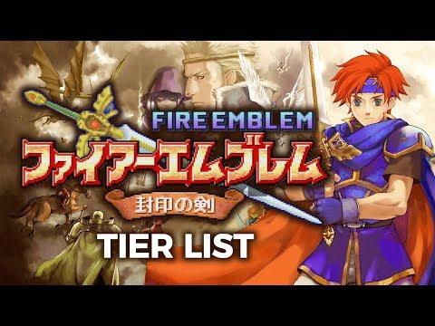 Fire Emblem 6 Tier List: Fire Emblem Character Sorter
