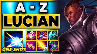 Plays That Will Make You Laugh (A - Z Lucian) - BunnyFuFuu | League of Legends