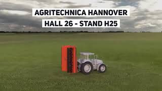 AQUILA FOLDABLE STALK SHREDDER - AGRITECHNICA