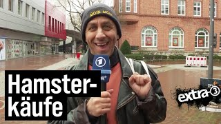 Reporter Rollo: Hamsterkäufe
