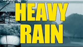 "Heavy Pouring Rain and Thunder | 2 Hours | ""Rain"" ""Rain Sounds"" ""Sleep Sounds"""