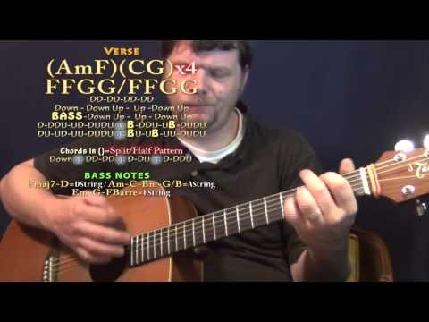 Every Storm (Gary Allan) Guitar Lesson Chord Chart