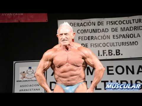 Exhibición de Manuel Valbuena @ XII Campeonato de Culturismo Villa de Aranjuez