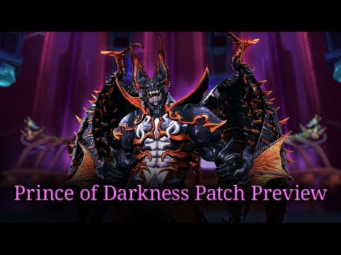 Blade & Soul: Prince of Darkness Patch Preview