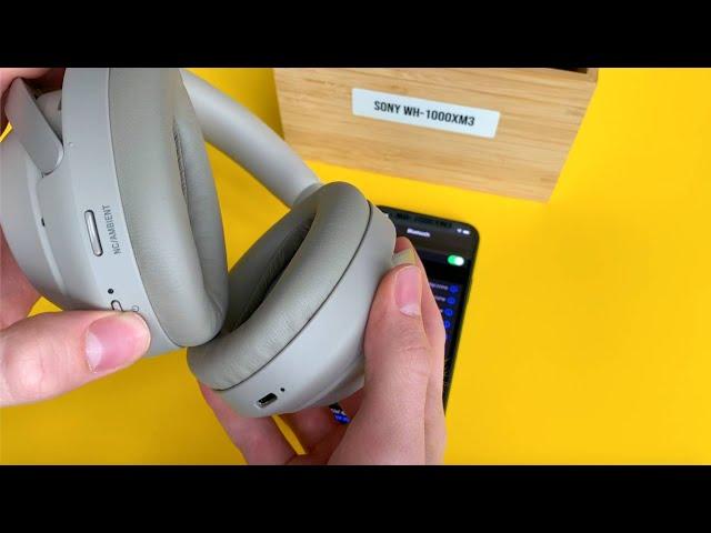 Jak sparować słuchawki SONY WH 1000XM3 ze smartfonem