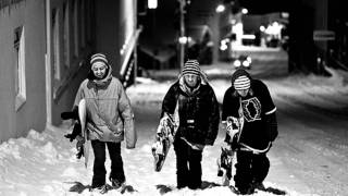chill snowboard music playlist