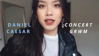 CONCERT GRWM: HAIR + MAKEUP • DANIEL CAESAR | hyulari