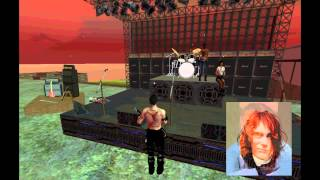 Um tributo Second Life a Kurt Cobain - Come as you are