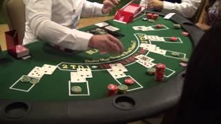Casino Night 2013 - Blackjack Table Win