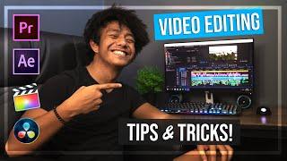 5 VIDEO EDITING TIPS!