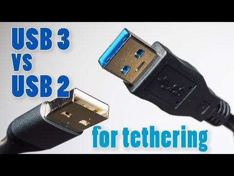 Testing USB 3 vs USB 2 Cables for Tethering ► It There a Difference?