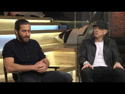 Eminem and Jake Gyllenhaal  Full interview  2015  The Southpaw Sessions Round 1 with