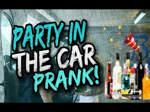 Party in the car prank