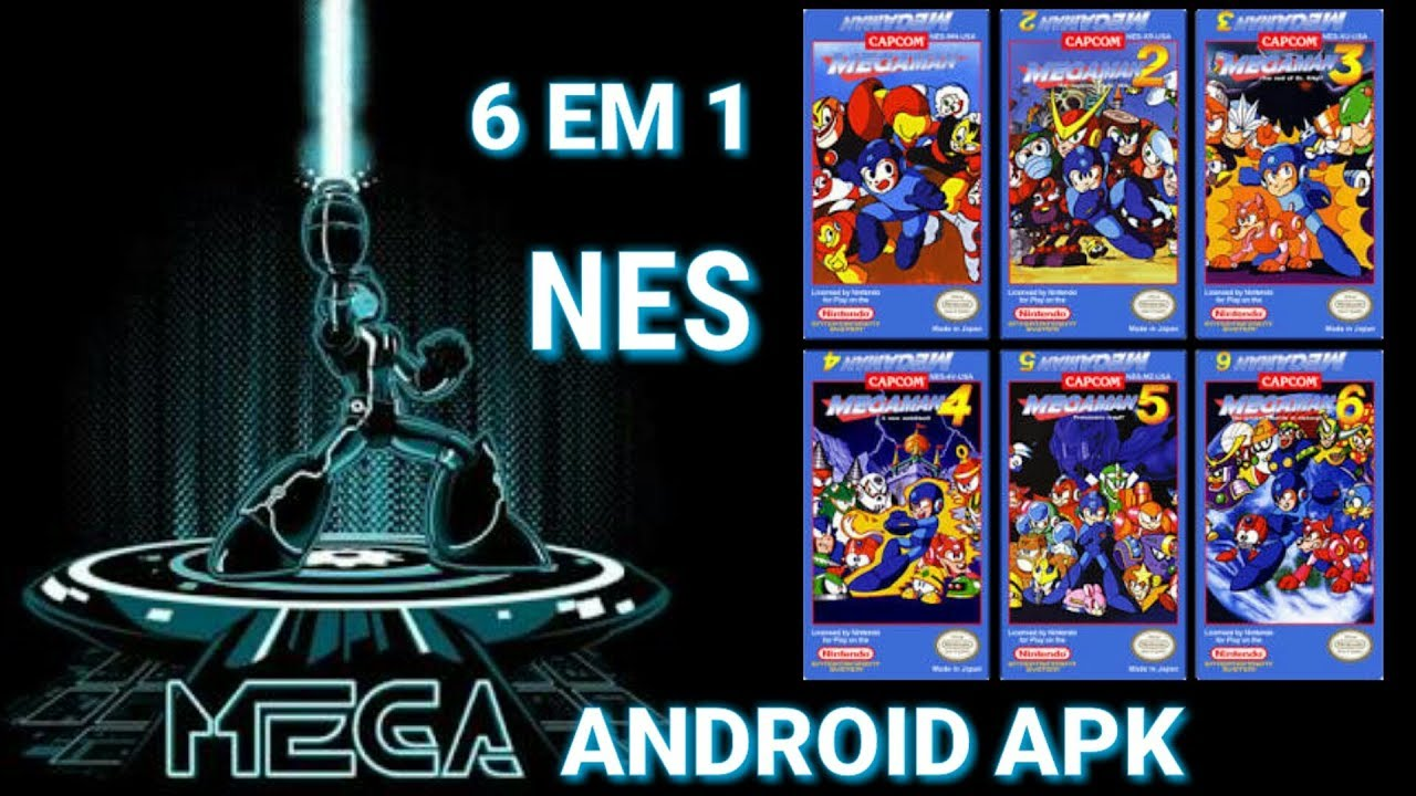 MEGA MAN 6 EM 1 NES APK no android