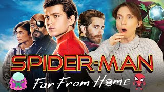 SPIDER-MAN FAR FROM HOME (JAKE, I TRUSTED YOU!) First Time Watching