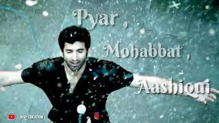 Aashiqui 2 Dialogue  | WhatsApp Status Video | NSP Creation