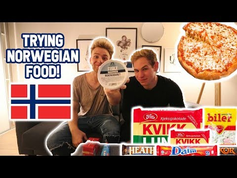 Weird Norwegian Food and Candy!!