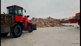 Дрова берёзовые в Кургане с доставкой(погрузка дров., 2016-02-03T15:56:37.000Z)