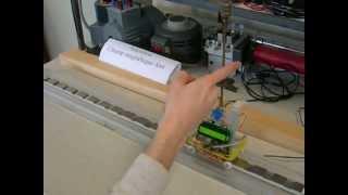 Moteur synchrone linéaire + pendule inverse, Vidéo d'animation