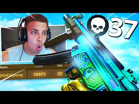 NEW MP5 CLASS is Like AIMBOT in Season 6! INSANE 37 KILL GAMEPLAY! (Modern Warfare Warzone)