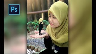 Photoshop CC Tutorial - Miniature Style Effect Little People Model Isty Phuphung