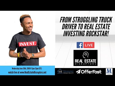 Antonio Edwards Shares How He Went From Struggling Truck Driver To Real Estate Investing Rockstar!