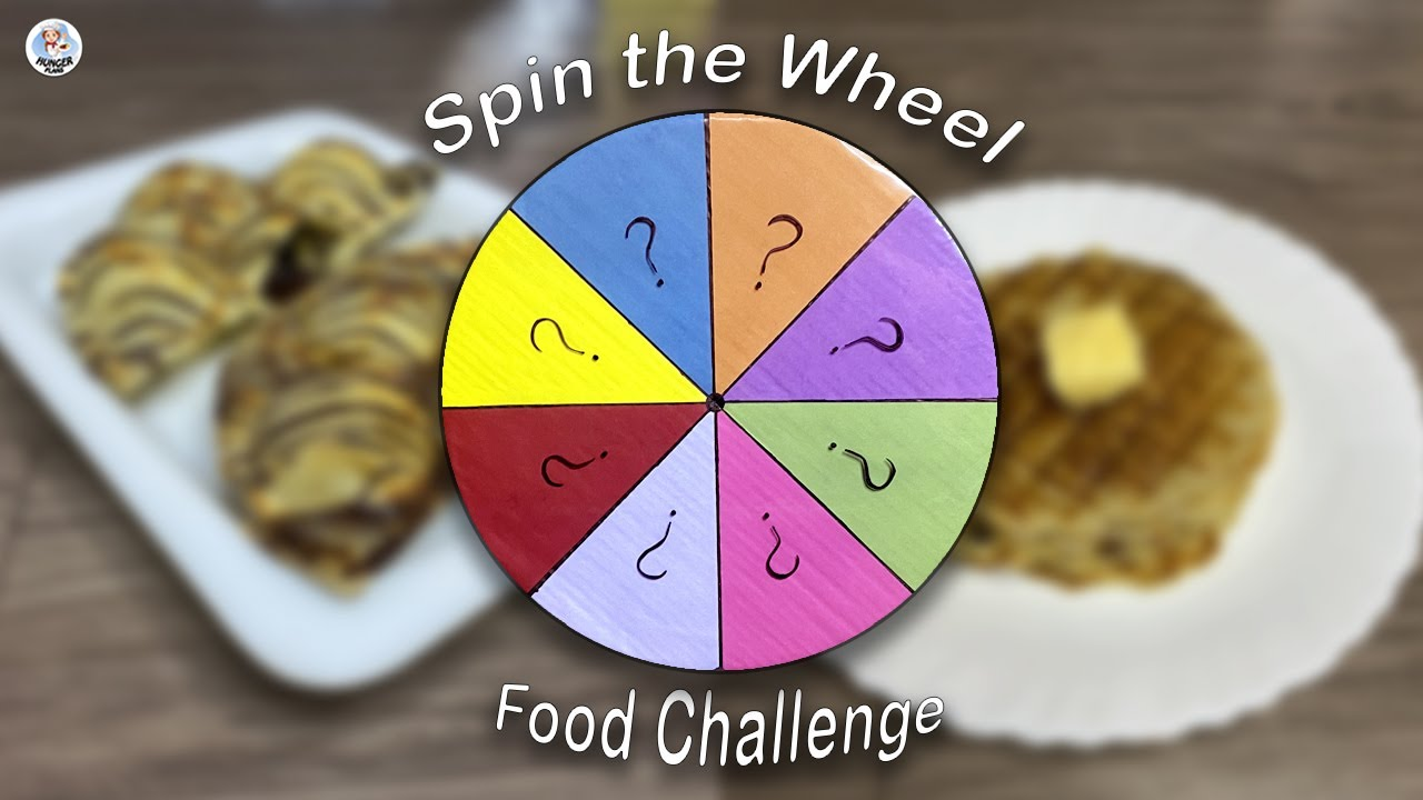 Spin The Wheel Food Challenge| Letting a Wheel Decide What I Cook | Food Challenge | Hunger Plans