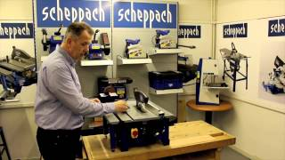 Screwfix - Scheppach Hs80 210mm Table Saw