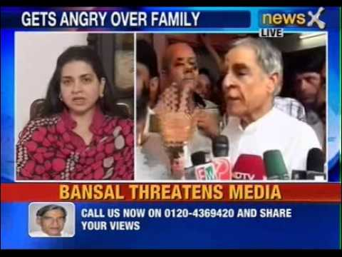 NewsX: What made Pawan Kumar Bansal angry? -- Part 1