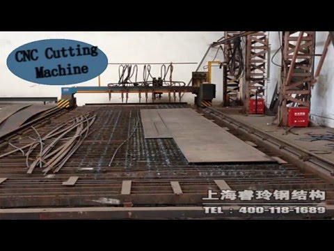 Shanghai RUILING Steel Structural Factory Video
