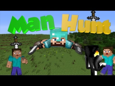 Minecraft Mini-Game: Man Hunt - The Deadliest Game!