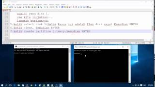 Tutorial cara membuat Bootloader Windows 7, 8 dan 10 dengan USB flashdisk