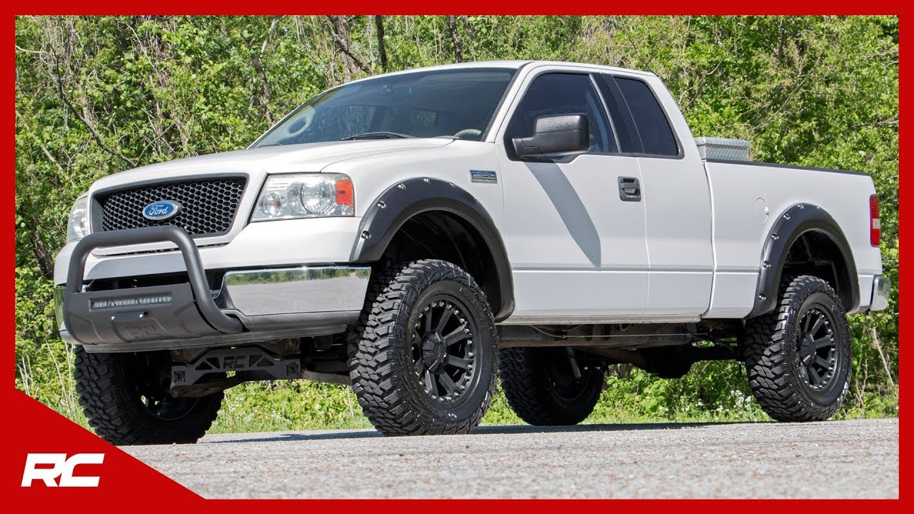 6 Inch Lift Kit For Ford F150 4X4 >> 2004 2008 Ford F 150 2wd 6 Inch Suspension Lift Kit By Rough Country