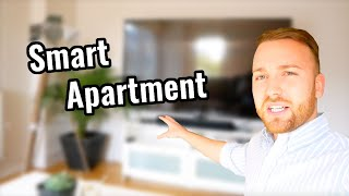 24 Year Old Entrepreneur's Smart Apartment Tour
