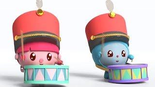 Малышарики -  Барабанщик - серия 153 - Обучающие мультфильмы для малышей