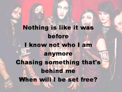 Motionless In White - Burned At Both Ends (Lyrics on screen)