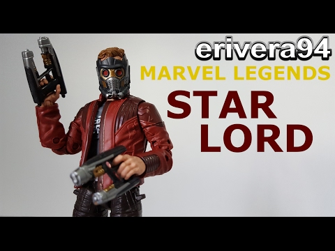 Marvel Legends Star Lord Figure Review Guardians of the Galaxy Vol. 2 Titus Build A Figure